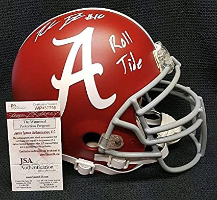 6e7055c9d Amazon.com  REUBEN FOSTER Autographed Alabama Crimson Tide Full Size Custom  Helmet. - JSA Certified - Autographed College Helmets  Sports Collectibles