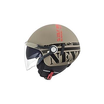 Motocicleta Nexx X60 misión casco marrón XXL UK vendedor