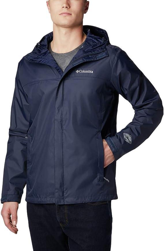 Columbia Men's Watertight II Front Zip Hooded Rain Jacket