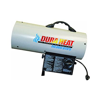 Forced Air Propane Heater >> Amazon Com Dura Heat Propane Forced Air Heater White Home Kitchen