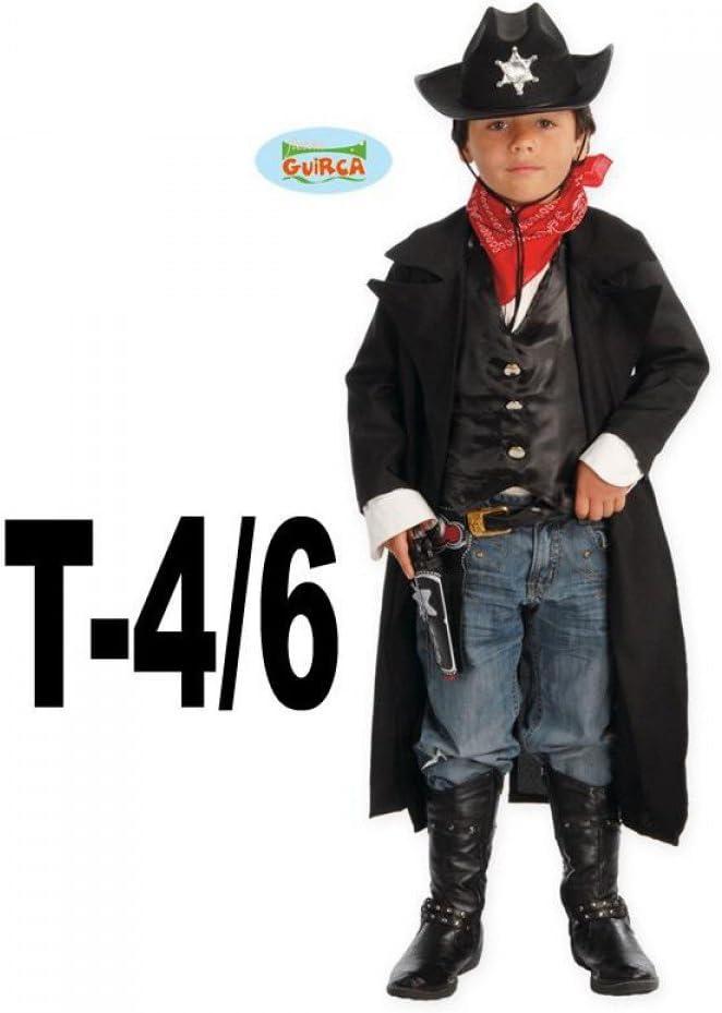 Disfraz de vaquero pistolero para niño - 4-6 años: Amazon.es ...