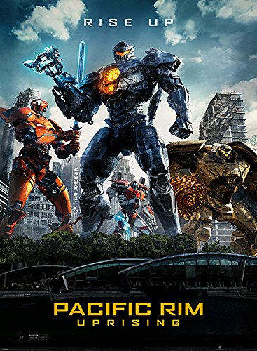 Used, AWDIP Official Pacific Rim Uprising Rise Up Maxi Poster for sale  Delivered anywhere in Canada