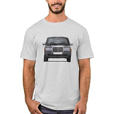 Amazon Com Zazzle Men S Basic T Shirt Mercedes Benz W123 T Shirt