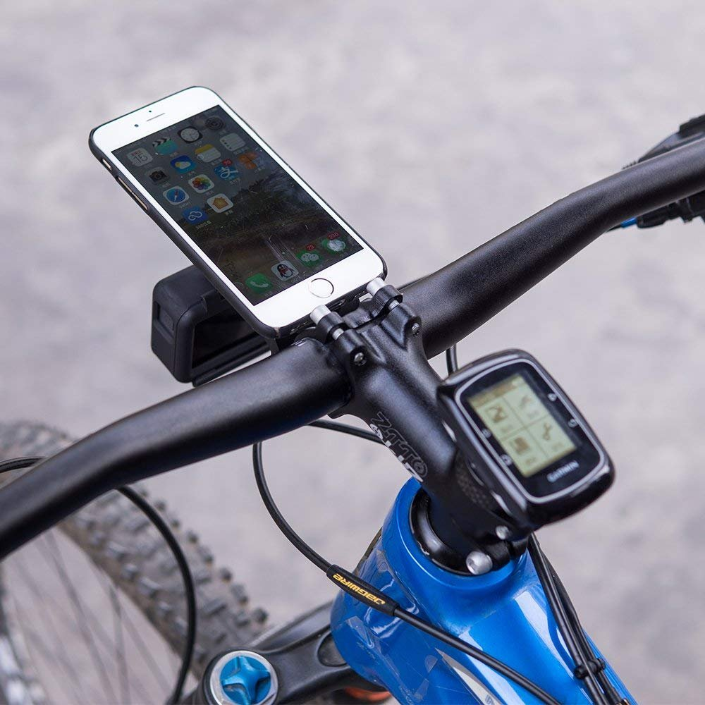 GZLMMY MTB Bicicleta de Monta/ña Bicicleta de Carretera Bicicleta de Carga Cicl/ón Ordenador Garmin Smartphone Soporte para Montaje Smartphone Carpeta