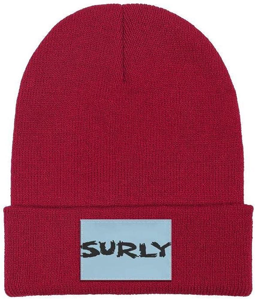 DXQIANG Surly-Bikes Men Women Knit Beanies Hat Slouchy Skull Knit Cap