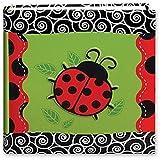 Pioneer Photo Albums Pioneer 3-D Applique Ladybug Design Bi-Directional Memo Album (Pack of 2)