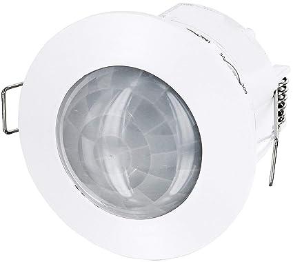 Empotrable IR Detector de movimiento 360 ° – – LED empotrable techo Adecuado – 1200 W