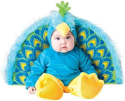 Disfraz Pavo real para bebé - Premium 6-12 meses (74/80): Amazon ...
