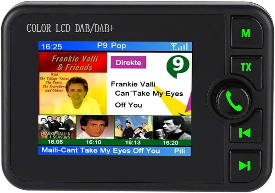 Dab Dab Autoradio Adapter 2 4 Lcd Display Mit Elektronik