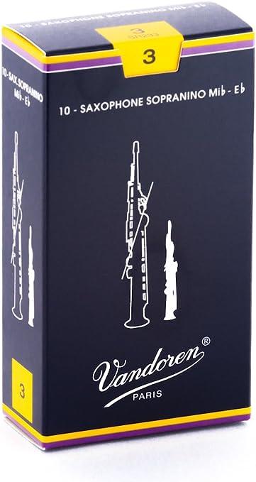 Vandoren SR232 Box 10 Ance Sassofono Sopranino