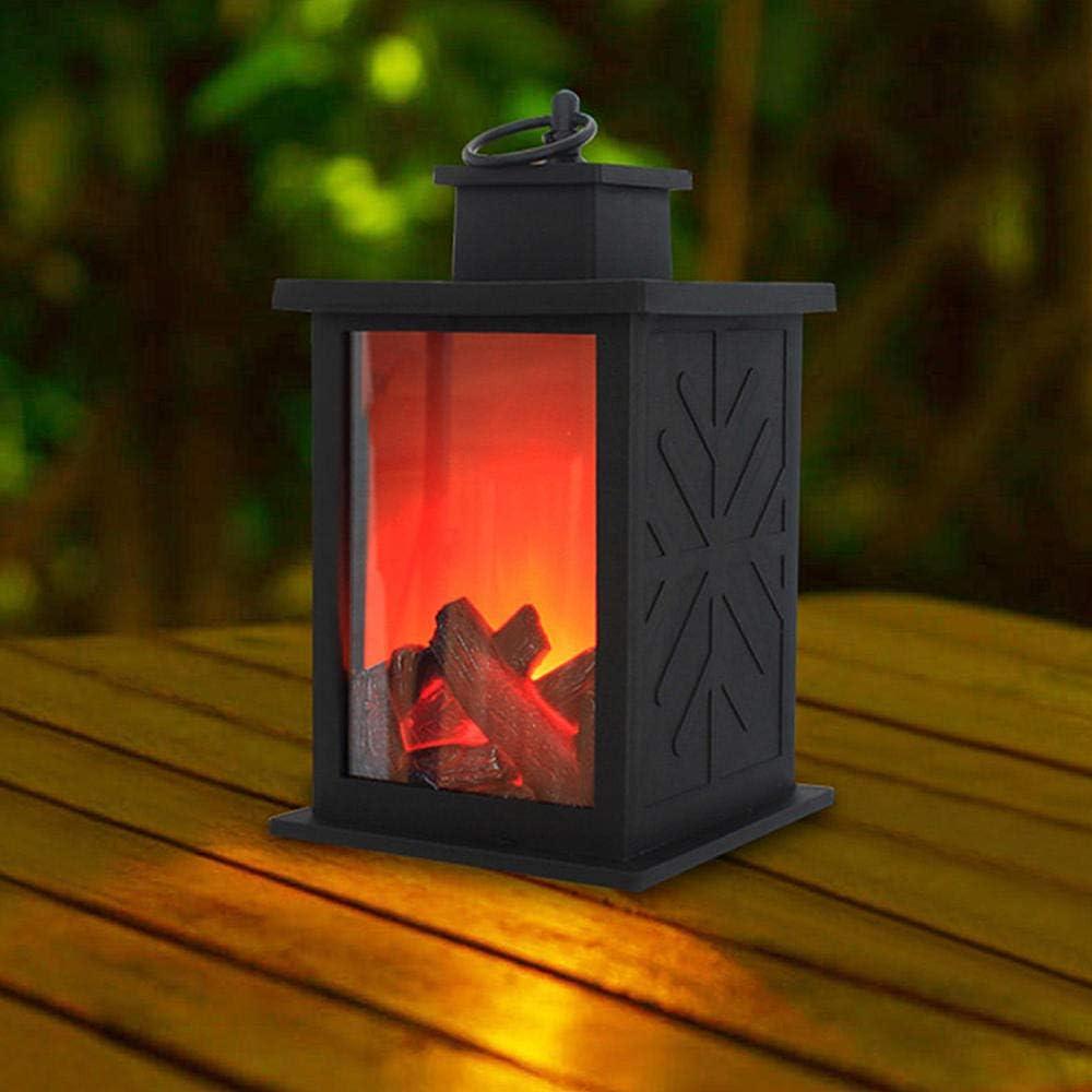 Fausse Chemin/ée Lanterne Chemin/ée Lanterne D/écorative De Dessus De Table De Lanterne De Chemin/ée Led Lanterne Accrochante Pour LInt/érieur Ext/érieur