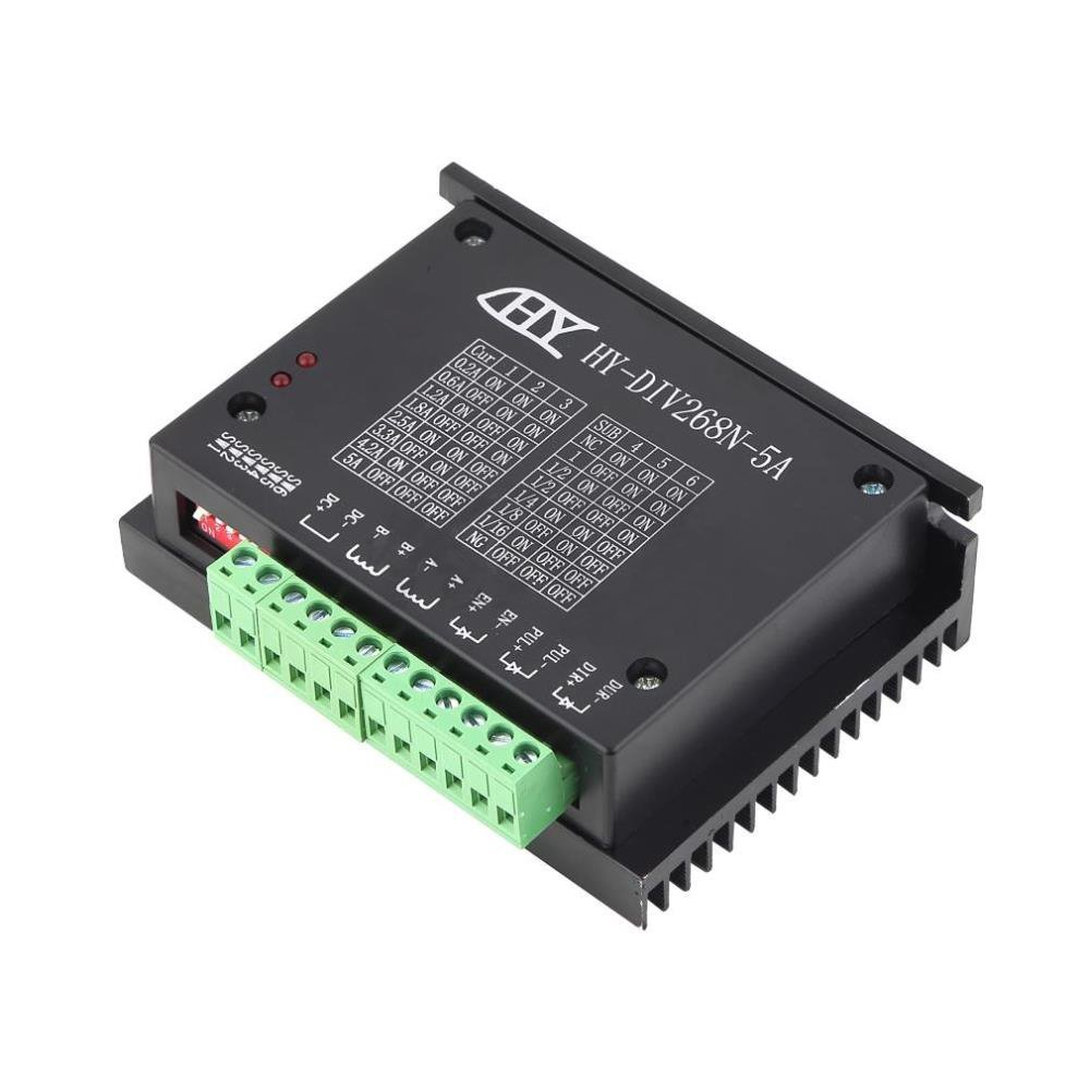 61V2%2BECVNFL._SL1000_ mysweety tb6600 0 2 5a cnc controller stepper motor driver nema 17  at creativeand.co