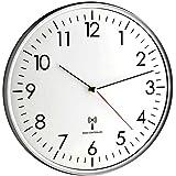 Funk-Wanduhr Funchal TFA 60.3516.10 anthrazit 330 mm mit nahezu lautlosem Sweep-Uhrwerk