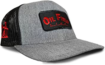 Oil Field Hats Heather Gray w Black OFL Patch Cap - FT1811 dd9efab996d