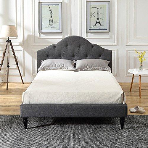 Amazon Com Winterhaven Upholstered Platform Bed