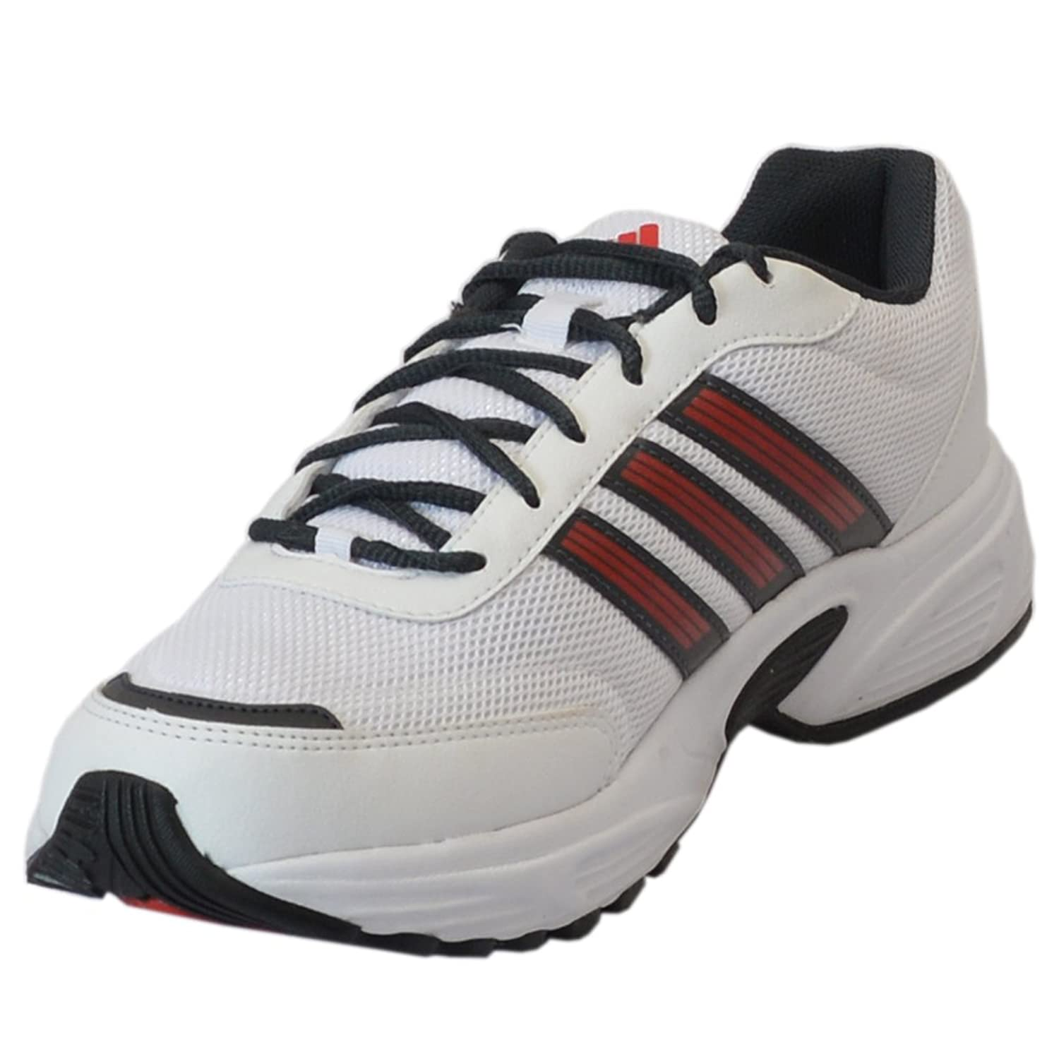 Adidas Men's Alcor White and Black Running Shoes - UK 8: Buy Online at Low  Prices in India - Amazon.in