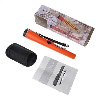guoyy detector de metales gp-pointer detector de vibración, naranja