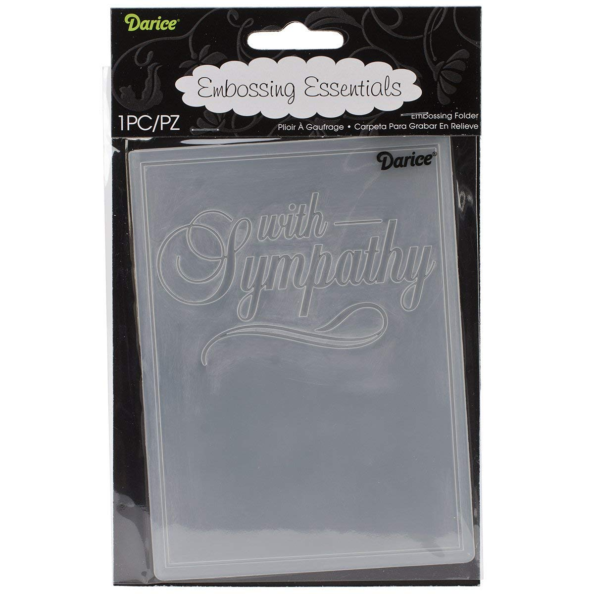 Darice Embossing Folder, 4.25 by 5.75, Design 4.25 by 5.75 1218-121