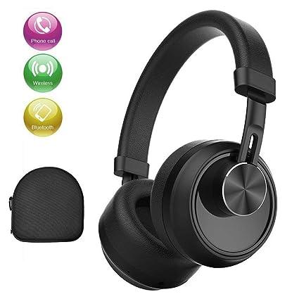 Auriculares Bluetooth para diurno, estéreo de alta fidelidad, inalámbricos, con micrófono, cancelación