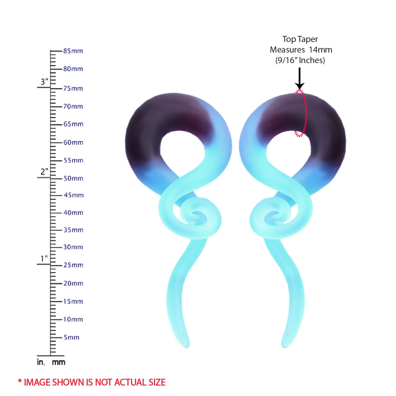 Amazon.com: Piercing para oreja Bodyj4You, de vidrio, en ...