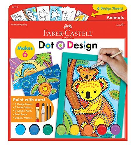 Faber-Castell Do-Art Dot a Design Animals