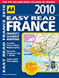 AA Easy Read France 2010 (Aa Atlases and Maps)