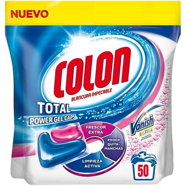 Colon Detergente Total Power Gel Caps Nenuco - 32 Dosis: Amazon.es ...