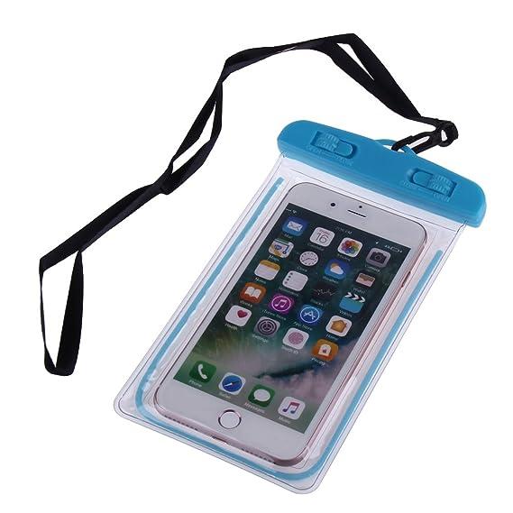 low priced 0f14a 2830c Amazon.com: Waterproof Phone Storage Bag Luminous Swimming Bag Phone ...