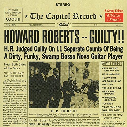 Original album cover of Guilty by Howard Roberts