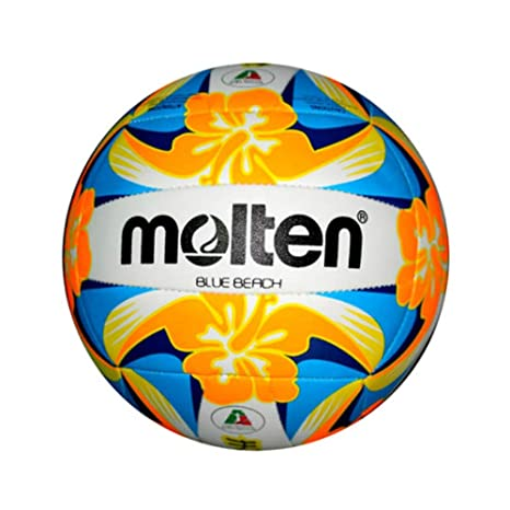 MOLTEN Balón Beach Volley Bleu Beach: Amazon.es: Deportes y aire libre