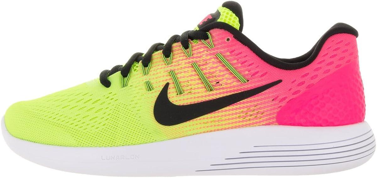 Nike Wmns Lunarglide 8 OC, Zapatillas de Running para Niñas, Negro ...