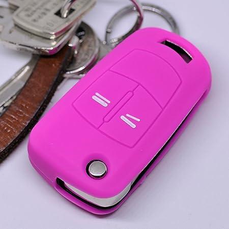 Soft Case Silikon Schutz Hülle Auto Schlüssel Pink Elektronik