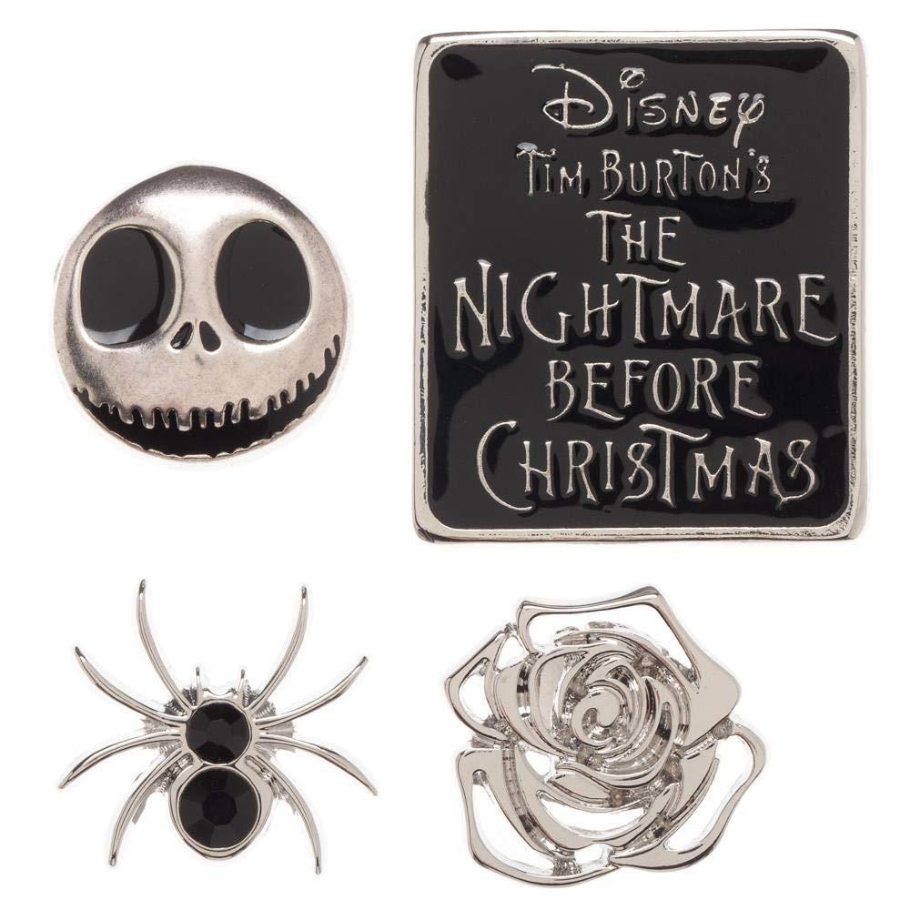 Nightmare Before Christmas NBC Lapel Button Pin Set