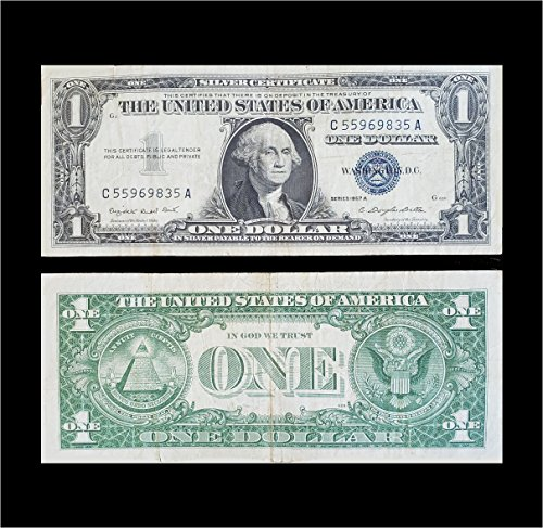 1957 Various Mint Marks Silver Certificate $1 Extremely Fine