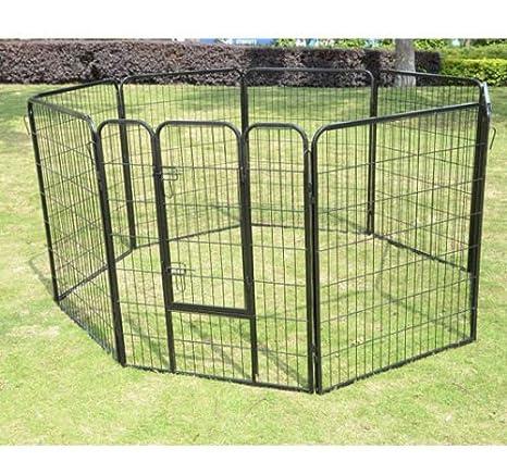 animalmarketonline cerca jaula Valla Caseta para perros gatos Conejos Cavie 640 x 80 cm: Amazon.es: Productos para mascotas