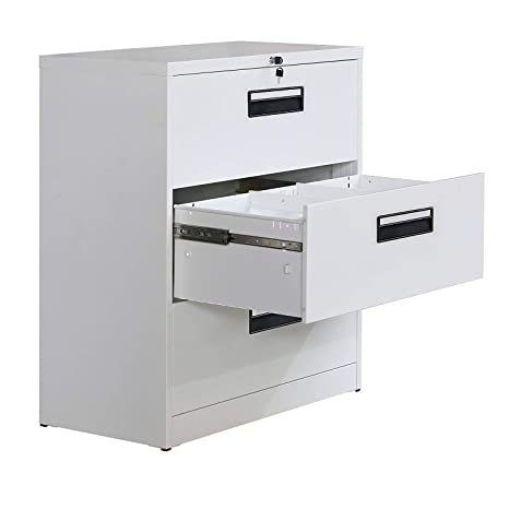 Amazon.com: Danxee - Archivador vertical de metal lateral ...