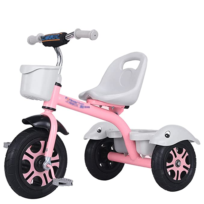 Amazon.com : Li Jing Firm Childrens bicycles stylish baby bicycles boys and girls three-wheeled bicycles 1-3-5-2-6-year-old baby bicycles outdoor outings ...