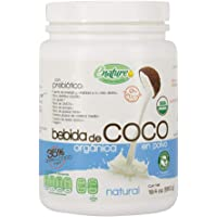 Enature Bebida de Coco Orgánica, Natural, 550 g