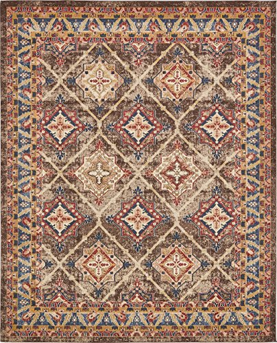 Marvelous Traditional Persian Rugs Vintage Design Inspired Overdyed Fancy Dark Brown  8u0027 X 10u0027 Diamond St. James Area Rug