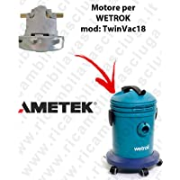 Motor ametek de aspiración para aspiradora Wetrok twinvac