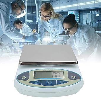Balanza electrónica analítica de laboratorio, 10000g x0.1g ...