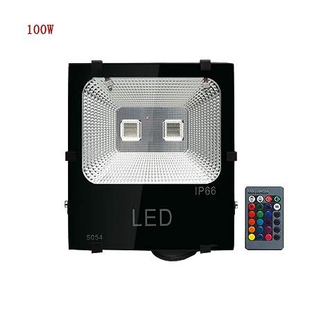 XEX Foco LED Proyector, Luz Cambiante Al Aire Libre del Paisaje ...