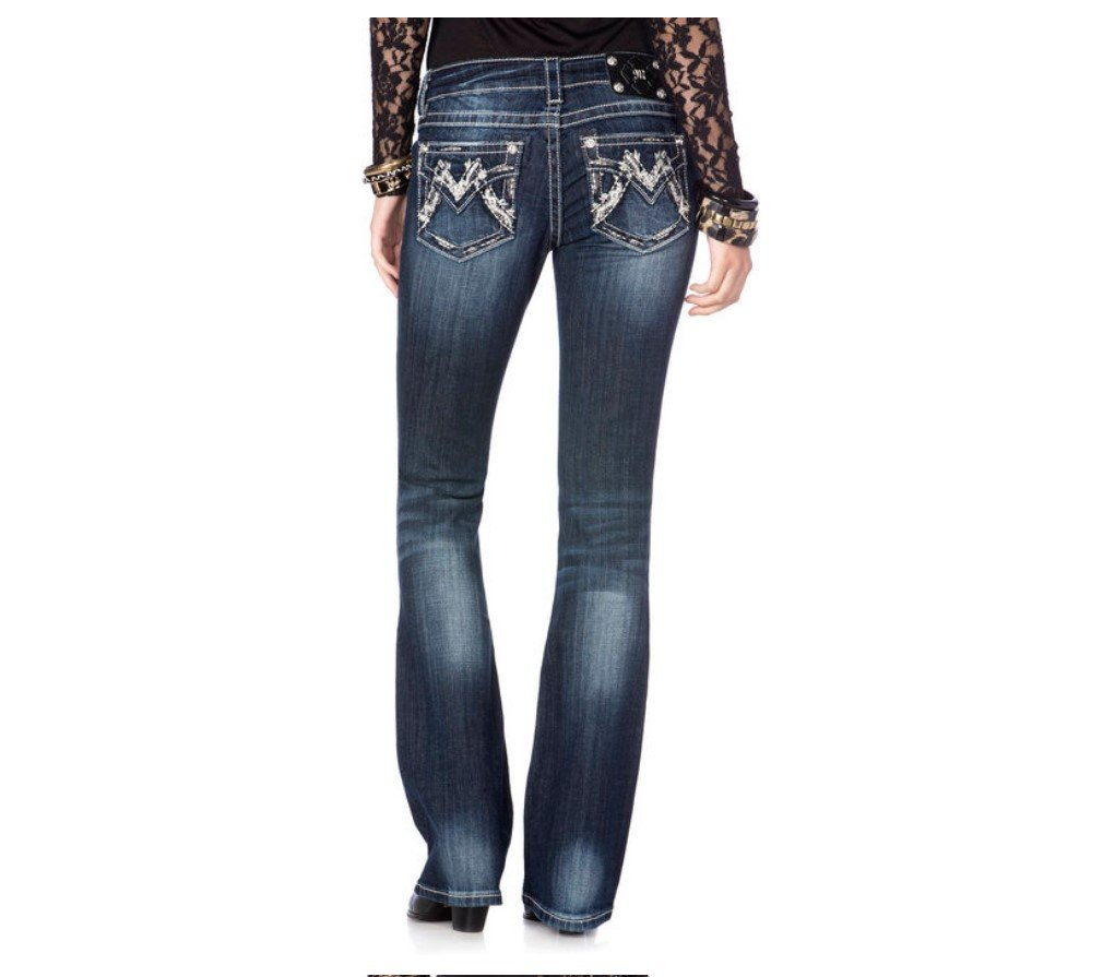 Miss Me Shimmering M Boot Cut Jeans (32)