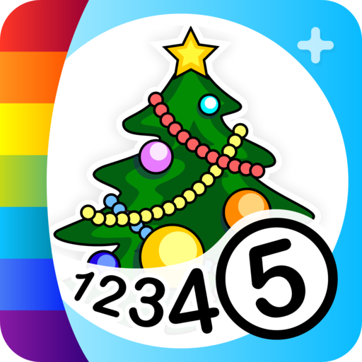 Color by Numbers - Christmas + (Number Christmas Color By Tree)