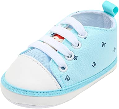3-12 Months Newborn Infant Toddler Baby Boy Girl Soft Sole Crib Shoes Sneaker
