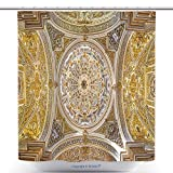 Custom Shower Curtains Granada Spain May The Ceiling And Cupolas Of Church Nuestra Senora De Las Angustias 286370804 Polyester Bathroom Shower Curtain Set With Hooks