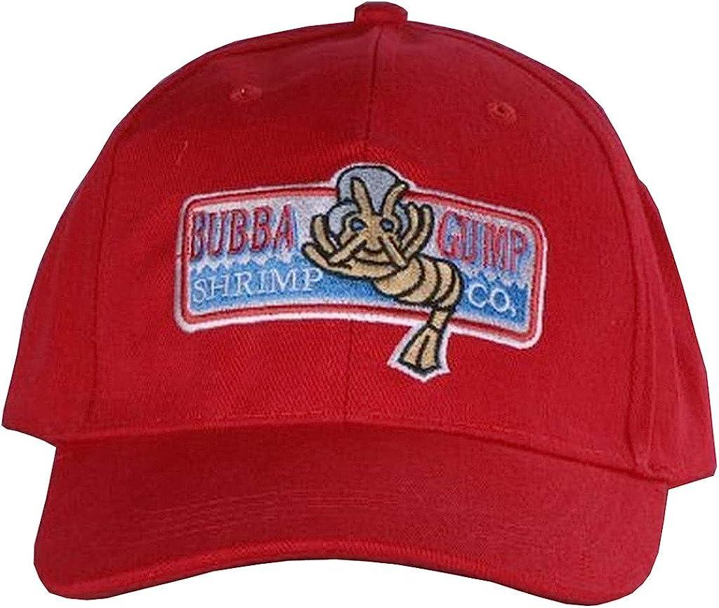 Lanrui Forrest Gump Gorra Bubba Gump Sombrero de camarones: Amazon ...