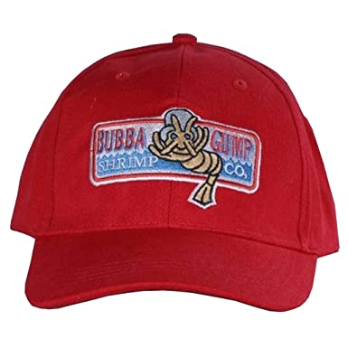 Forrest Gump Cap Bubba Gump Shrimp hat  Amazon.co.uk  Clothing 5ef314940