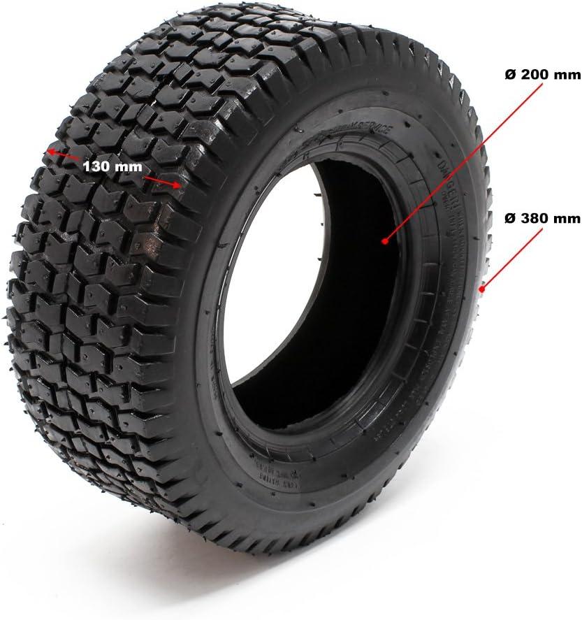 Schlauch 2 neue Reifen Mantel 4PR  f.Rasentraktor Aufsitzmäher 18x6.50-8 inkl