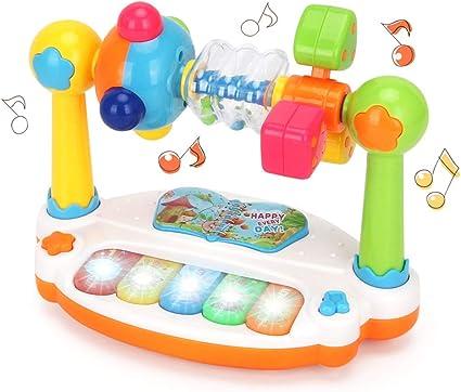 Bozaap Juguetes Musicales para bebés, Teclado Musical para ...